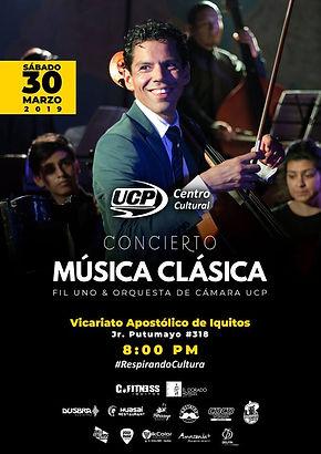 Fil Uno y orquesta UCP 2019