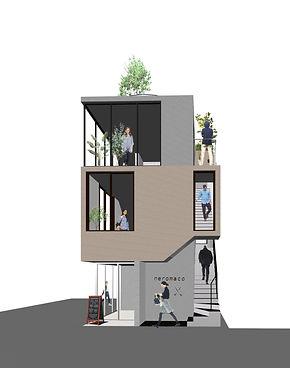 Edogawabashi tenant building