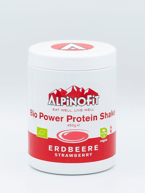 Bio Power Protein Shake Erdbeere (450g)