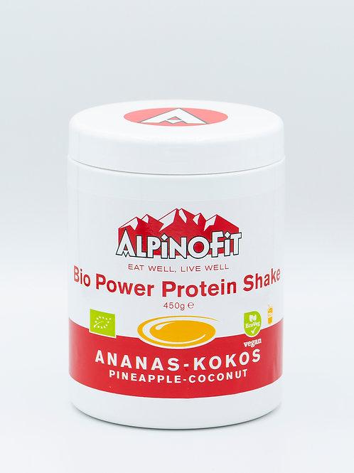 Bio Power Protein Shake Ananas-Kokos (450g)
