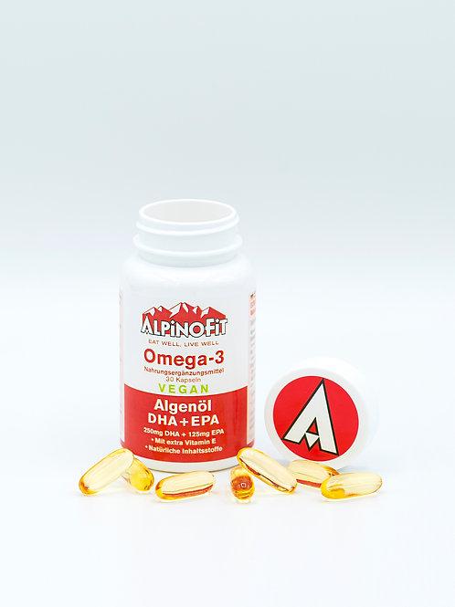 AlpinoFit Omega-3 auf Algenbasis (30 Stück))