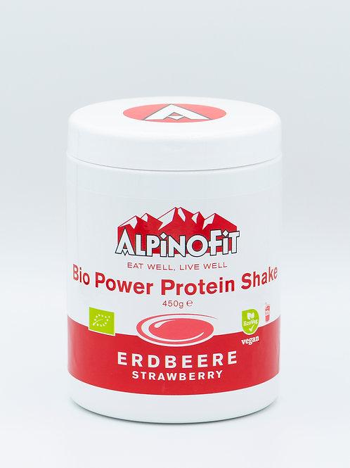 Bio Power Protein Shake Erdbeere (450 g)
