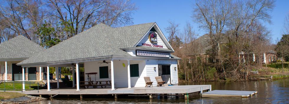 Boat house and ski dock