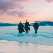 Walking on snowy ice
