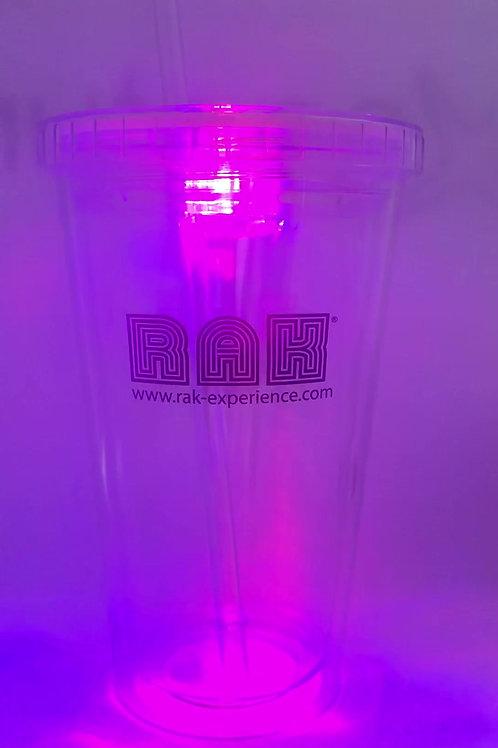 RAK 16oz LED Lit Tumbler