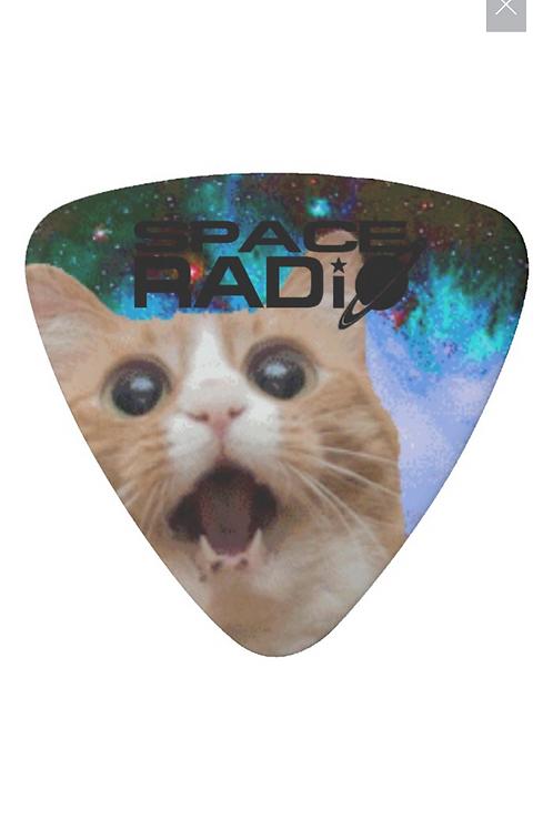 Space Radio guitar pick