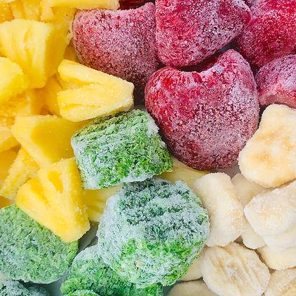 organic frozen fruit and veg