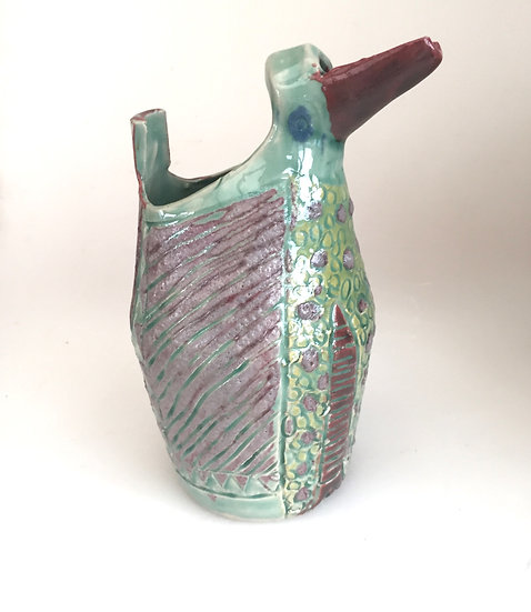 medium turquoise jug