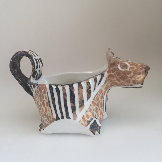 small brown cow creamer