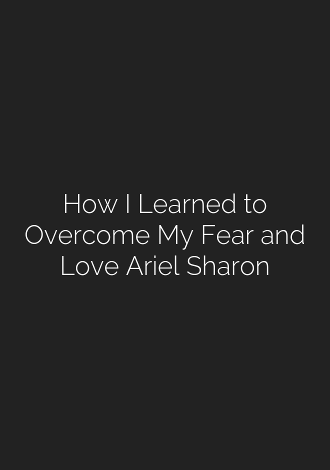 How I learned to overcome my fear an