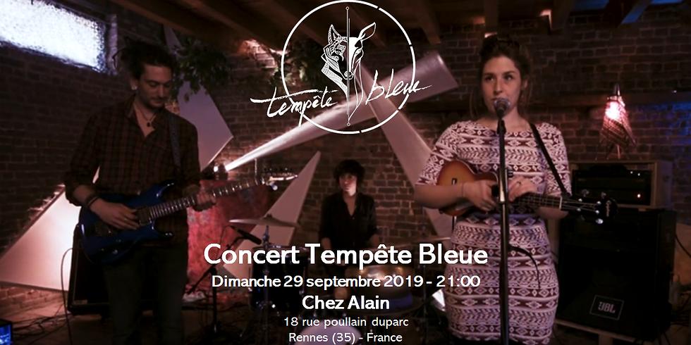 Tempête Bleue @Chez Alain (Rennes)