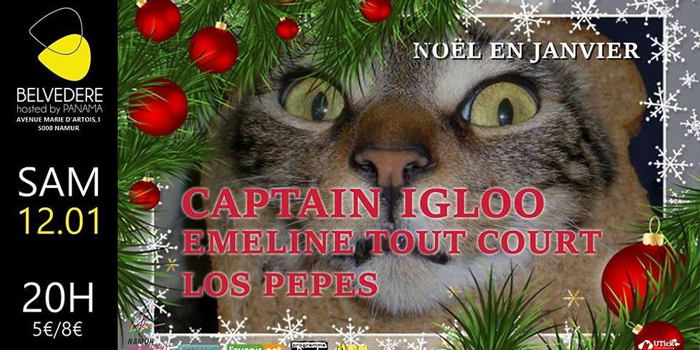 Emeline Tout Court @ Noël en Janvier // Les 30 ans de Captain Igloo