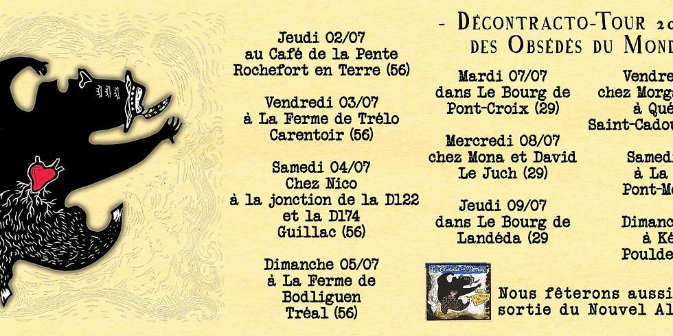 Emeline Tout Court @Décontracoto Tour / avec Les Obsédés du Monde