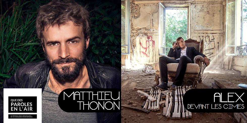 Qdpelr - Matthieu Thonon / Alex Devant les Cimes