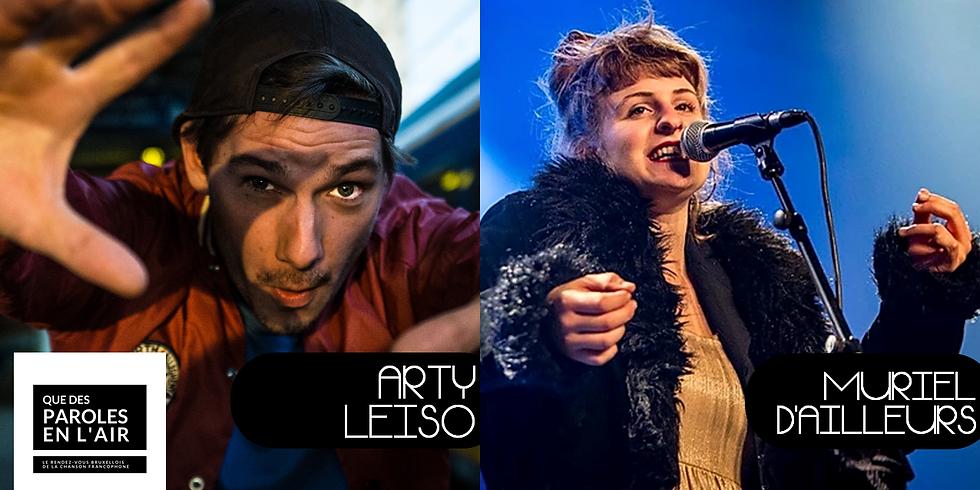 Qdpelr - Arty Leiso / Muriel d'Ailleurs
