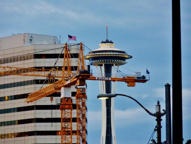 The new Seattle skyline