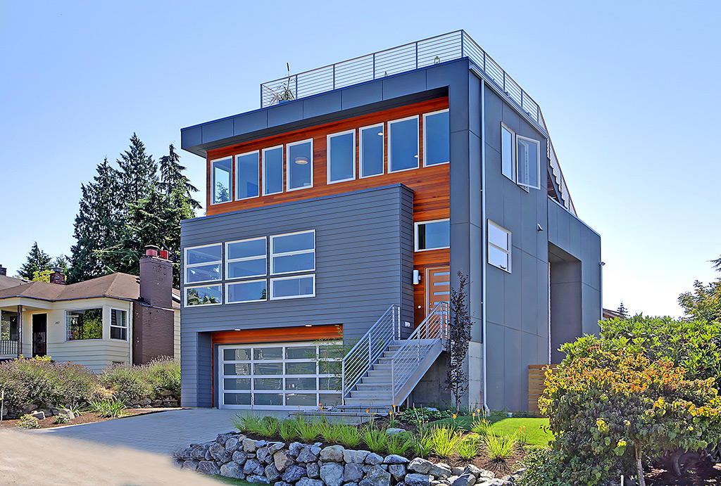 Spectacular modern view home!