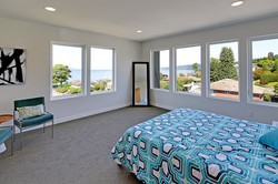 Gorgeous views from master suite