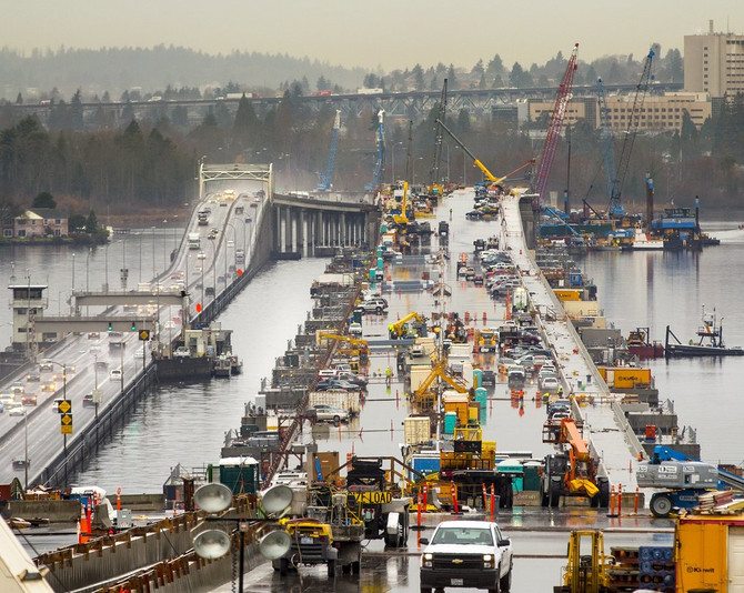 520 Bridge Closed this Weekend