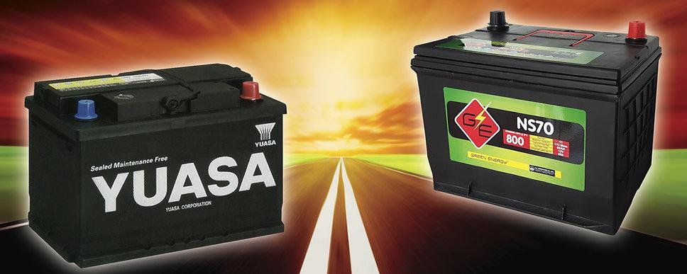 YUASA BATTERY, GREEN ENERGY BATTERY, BATTERY TRINIDAD, CAR BATTERY, maintenance free battery