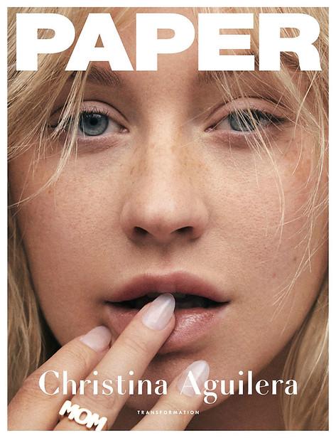 CHRISTINA AGUILERA - PAPER