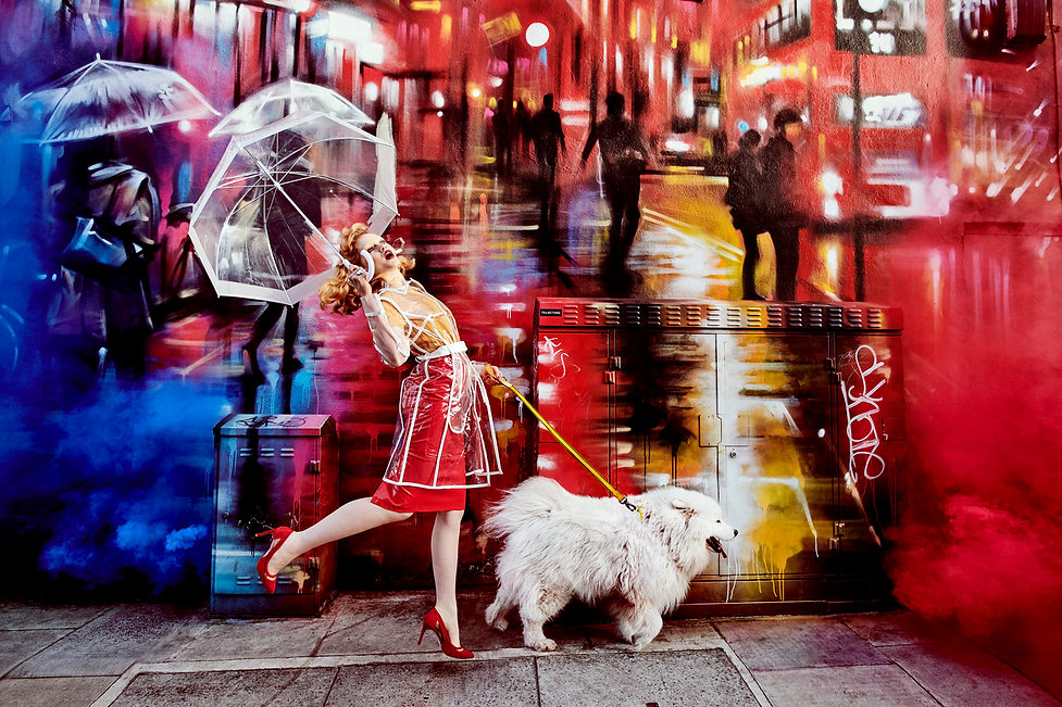 Model_Meets_Mural_London_England_no_01_2