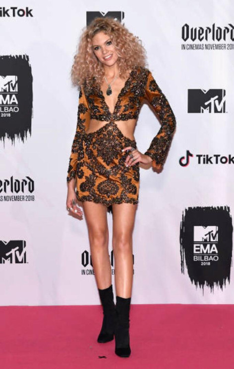 BECCA DUDLEY - MTV EMA 2018