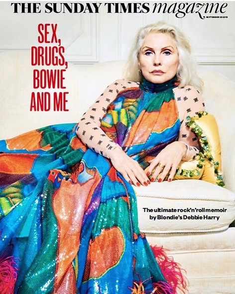 DEBBIE HARRY - THE SUNDAY TIMES