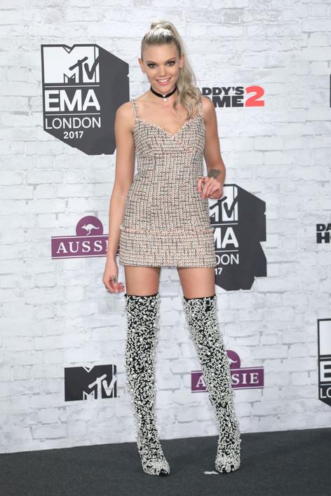 BECCA DUDLEY - MTV EMA 2017