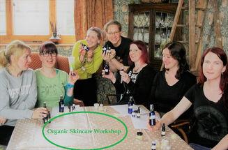 Organic skincare workshop