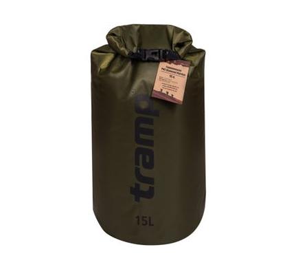 New Гермомішок Tramp PVC Diamond Rip-Stop оливковий 15л