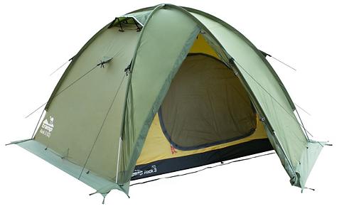 New Палатка Tramp ROCK 3 (V2) Зеленая