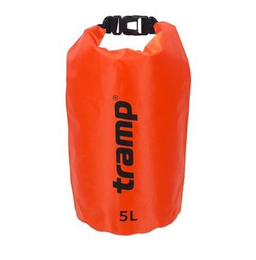 Гермомішок Tramp PVC Diamond Rip-Stop помаранчевий 5л
