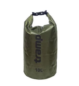 Гермомішок Tramp PVC Diamond Rip-Stop оливковий 10л