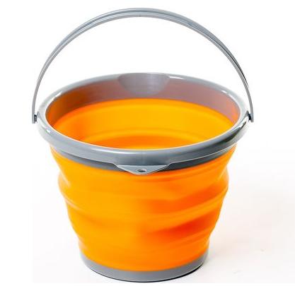 Відро складне силіконове Tramp 10L orange