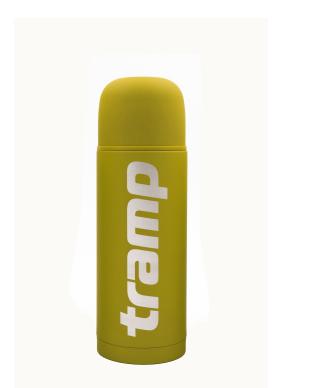New Термос Tramp Soft Touch 0,75 л жовтий