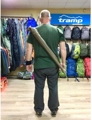 New Чохол для скандинавських палиць Tramp NW Cover 100 см оливковий