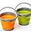 Thumbnail: New Відро складне силіконове Tramp 5L orange