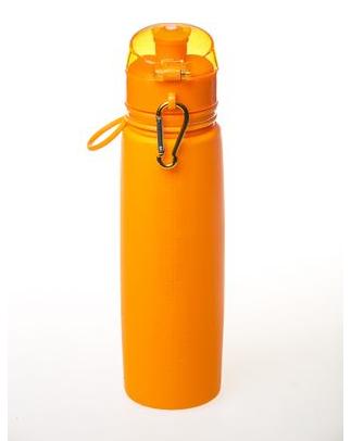 New  Пляшка силіконова Tramp 700ml orange