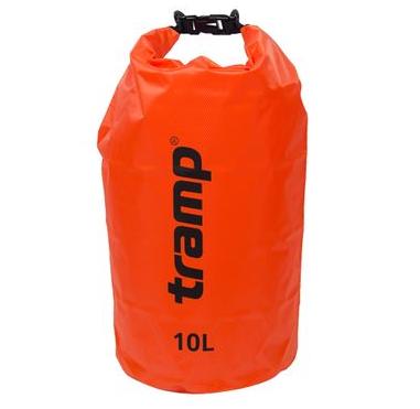 Гермомішок Tramp PVC Diamond Rip-Stop помаранчевий 10л