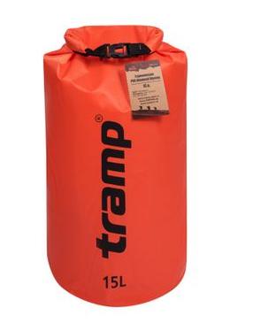 New Гермомішок Tramp PVC Diamond Rip-Stop помаранчевий 15 л