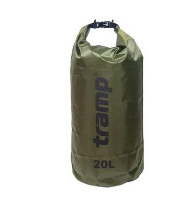 Гермомішок Tramp PVC Diamond Rip-Stop оливковий 20л