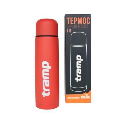 New Термос Tramp Basic червоний 1 л