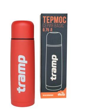 New Термос Tramp Basic червоний 0,75 л
