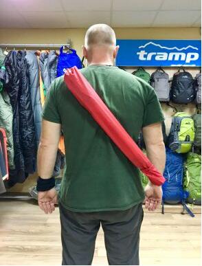 New Чохол для скандинавських палиць Tramp NW Cover 73 см червоний