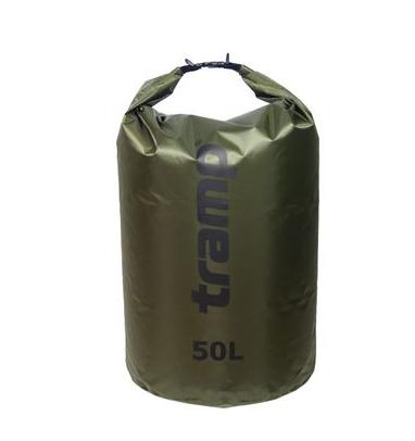 Гермомішок Tramp PVC Diamond Rip-Stop оливковий 50л