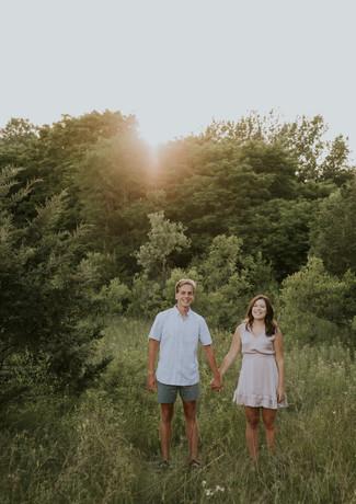 Maddie & Jon - Burlington WI Engagement