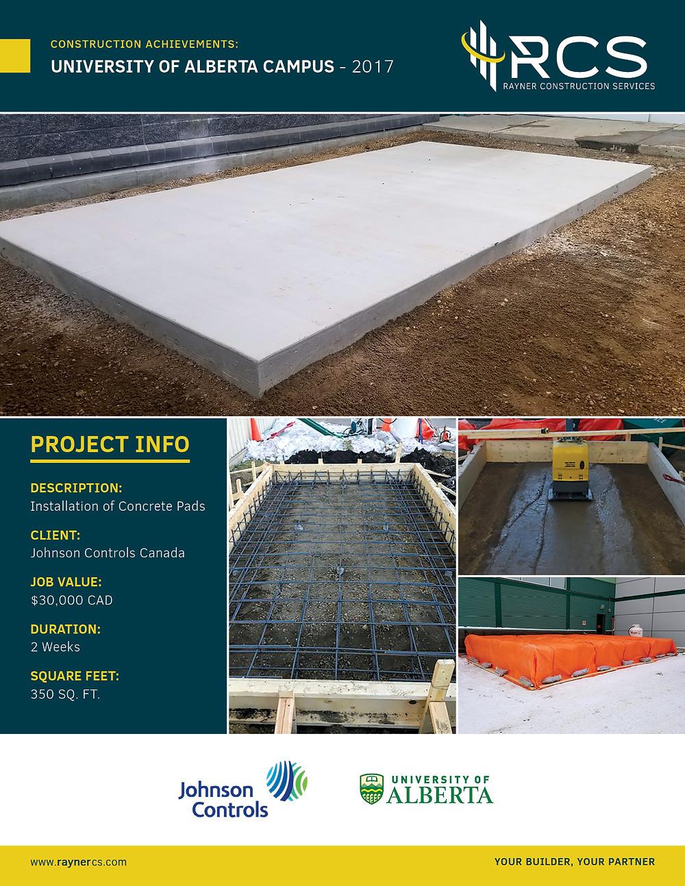 CONSTRUCTION ACHIEVEMENTS: