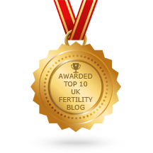 H Kennard award for Top 10 Uk fertility blog