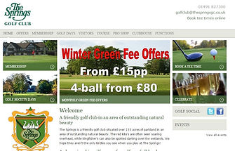 H Kennard Marketing Client The Springs Golf Club